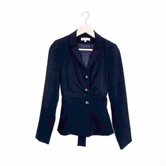 ⚡️SOLD⚡️ christian dior tie waist uniform blazer
